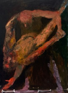 Tango Oil on canvas, 130 x 97 cm, 2012