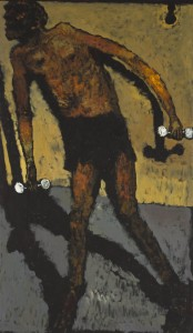Work Out Oil on Canvas, 114 x 195 cm, 2011