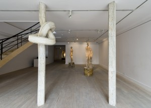 Installation view: Shan Hur, Knotted Pillar, 2013