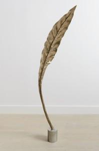 Shan Hur, Tree #4 (Pacho), 2013, Bronze, stainless steel base, 25 cm x 67 cm x 30 cm