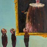 Niyaz Najafov, 'Portrait 2' 2015, Oil on canvas, 200 x 160 cm