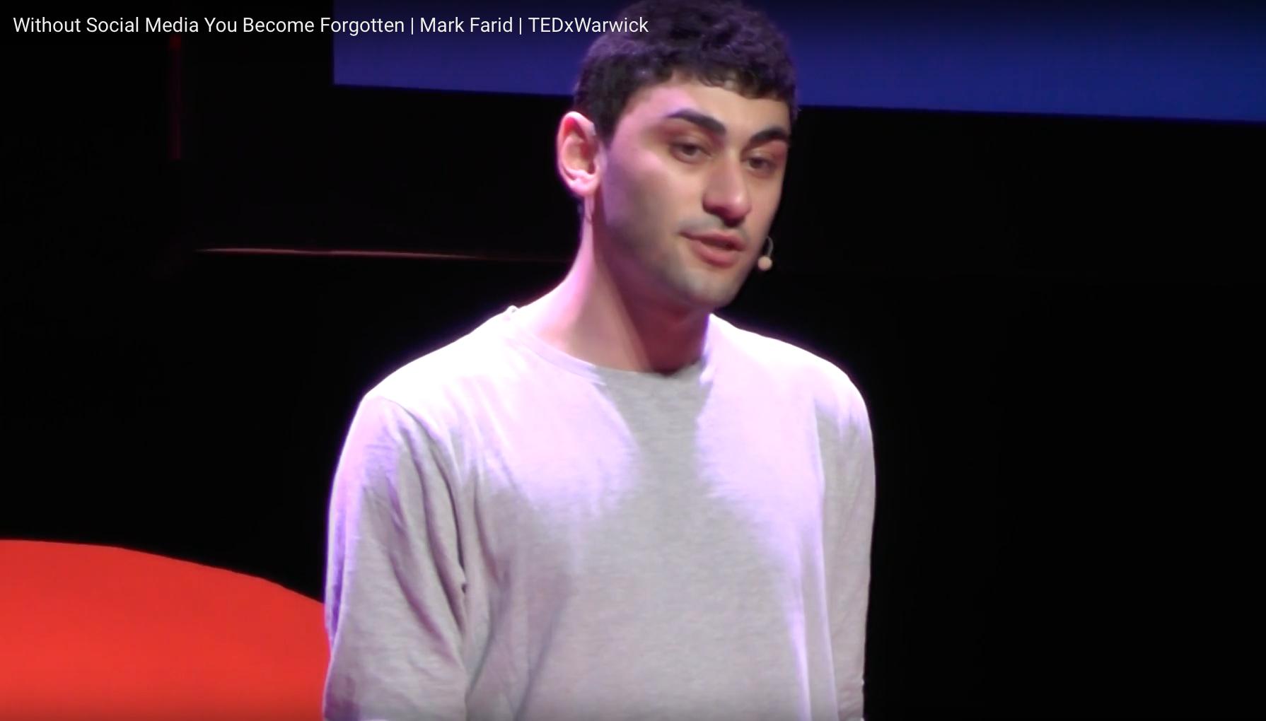 MARK FARID | TEDx TALK | APRIL 2017