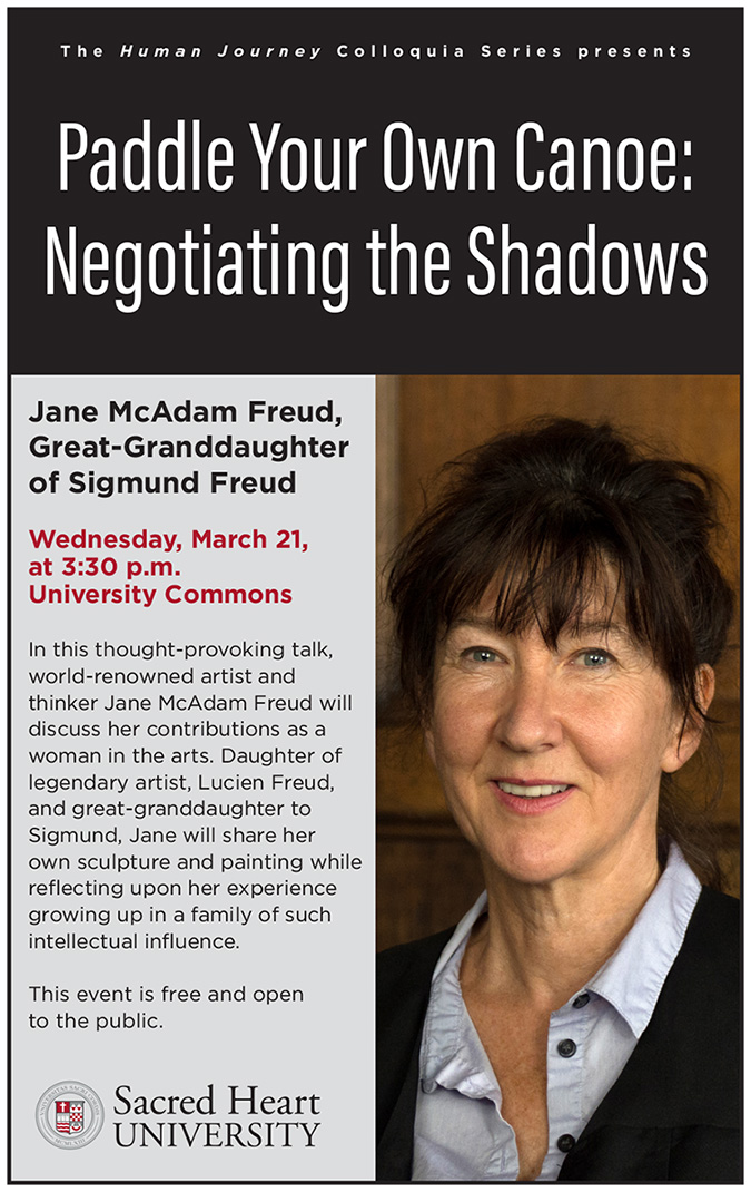 JANE MCADAM FREUD | SACRED HEART UNIVERSITY | CONNECTICUT