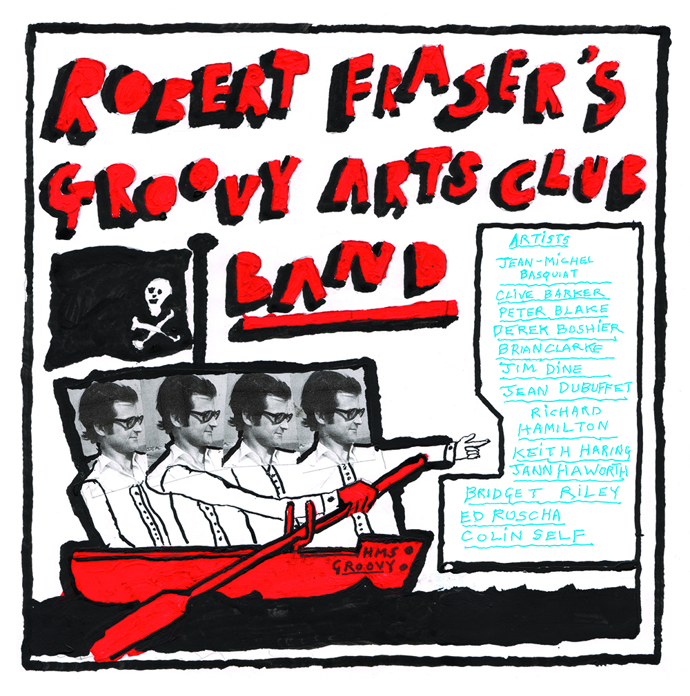 ROBERT FRASER'S GROOVY ARTS CLUB BAND | CONSIDERING ART | JANUARY 2019