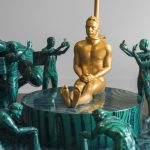Fyodor Pavlov-Andreevich, Small Heroic Sculpture #4 (O Cadeado), 2019 (detail)