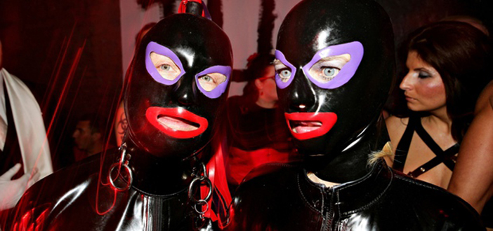 The Skin Two Rubber Ball fetish party