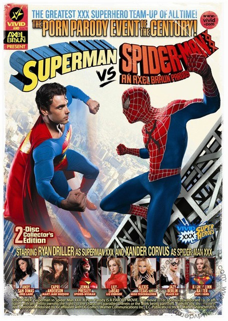 Superman vs. Spider-Man XXX