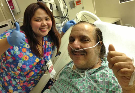 Porn star Ron Jeremy in hospital