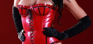 Skin Two latex corsets