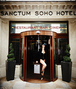 London Sanctum Hotel Opens S&M Suite