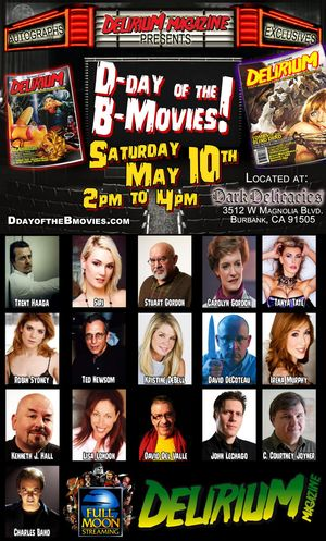 Tanya Tate D Day of the B Movies Event