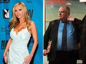 Nikki Benz and Rob Ford