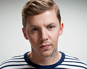 British rapper Professor Green