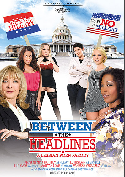 "Filly Films' ""Between The Headlines: A Lesbian Porn Parody"""