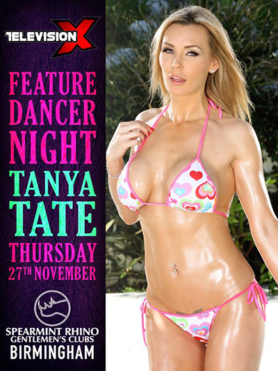 Tanya Tate at Spearmint Rhino Birmingham