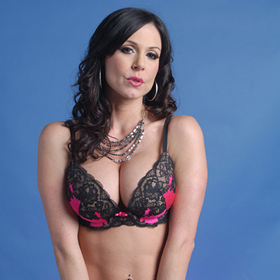 Kendra Lust showing tits in lingerie