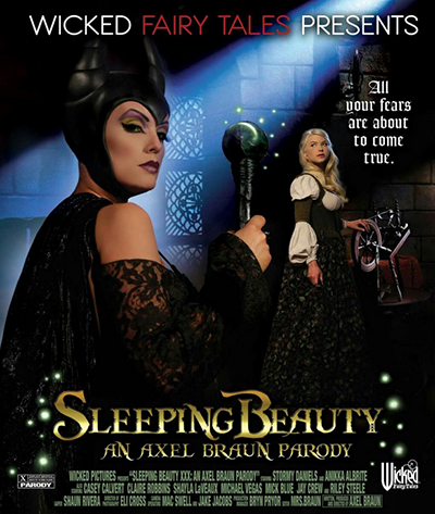 Sleeping Beauty XXX DVD Cover