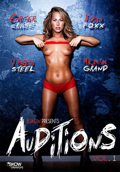 Carter Cruise Auditions 1 DVD cover
