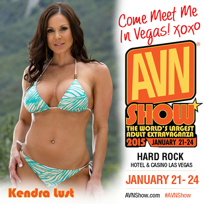 Kendra Lust at AVN Show 2015