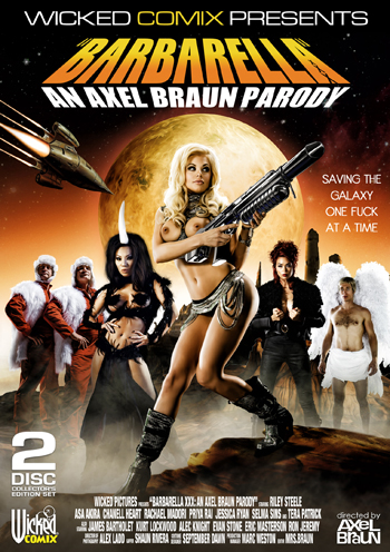 Barbarella XXX cover