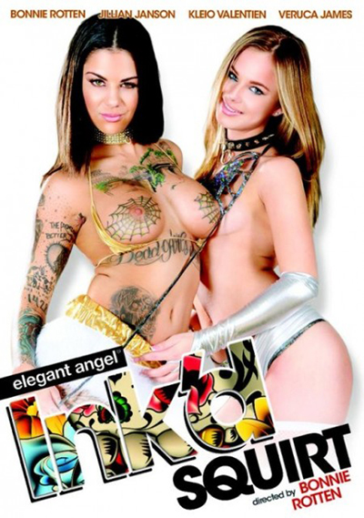 Bonnie Rotten Ink'd Squirt DVD cover