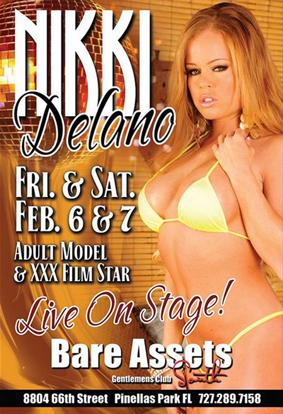Nikki Delano flyer for Bare Assets