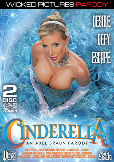 Cinderella XXX DVD cover starring Penny Pax