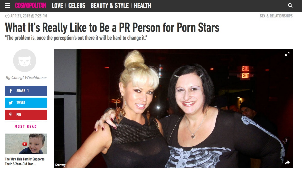 The Rub PR's Erika Icon Gets Interviewed by Cosmo