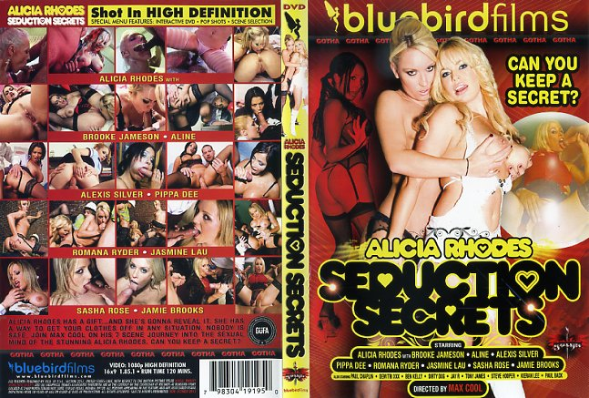 Alicia Rhodes Seduction Secrets DVD cover