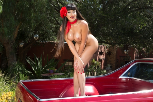 Mercedes Carrera In Busty Pin Ups