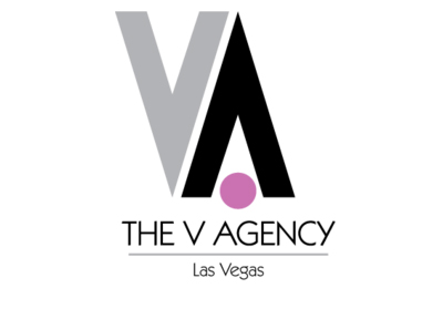 The V Agency logo