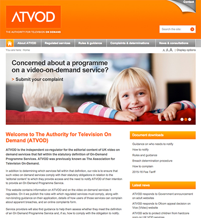 ATVOD website