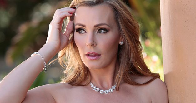 Tanya Tate is on the cover of Club Magazine
