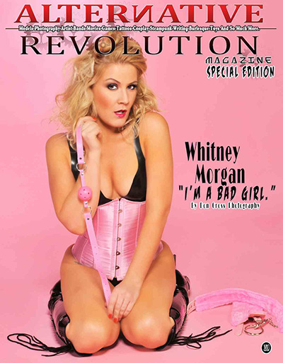 Whitney Morgan on cover of Alternative Revolution Magazine