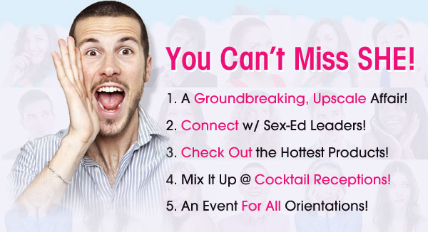 5 reasons to visit Sexual Health Expo