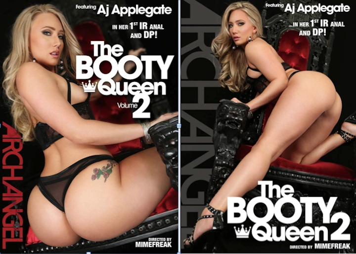 porn star AJ Applegate, The Booty Queen 2, ArchAngel, Girlfriends Films, MimeFreak, Jada Stevens, Mandingo, Sean Michaels, Prince Yashua, Bill Bailey, Booty Queen, IR, interracial, DP