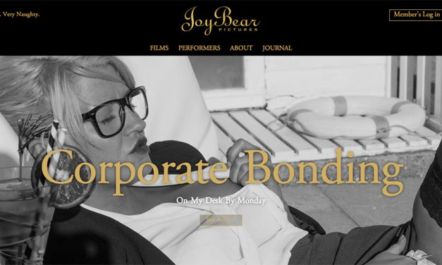 British porn JoyBear launch new website