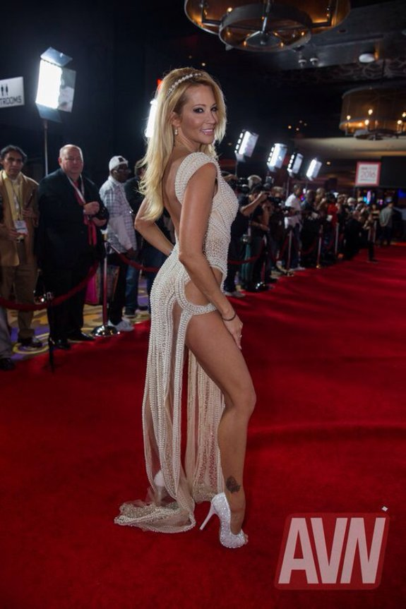 Porn star Jessica Drake at the 2016 AVN Awards