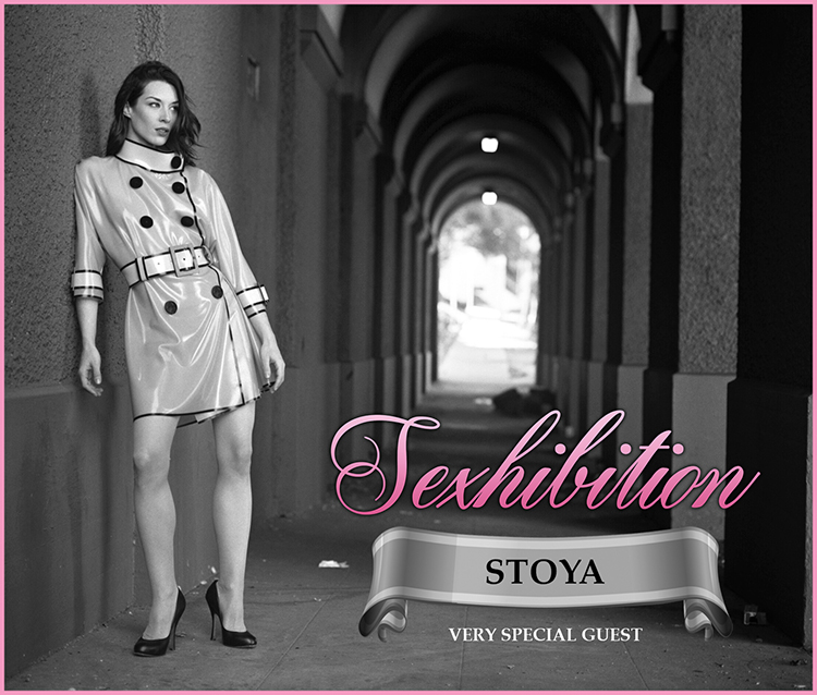 "Sexhibition host ""An Audience with Stoya"""
