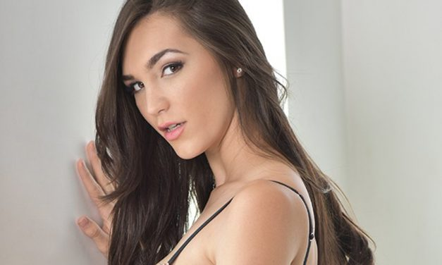 "Holly Michaels is back in ""Stacked 5: All Natural"""