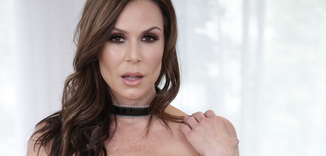 Kendra Lust lusts after big boobed MILFs