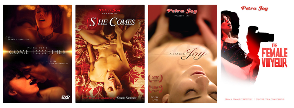 Cinema Joy – online movie theatre shows all of Petra Joy's films, and Petra's favourite films by other erotic directors from all over the world