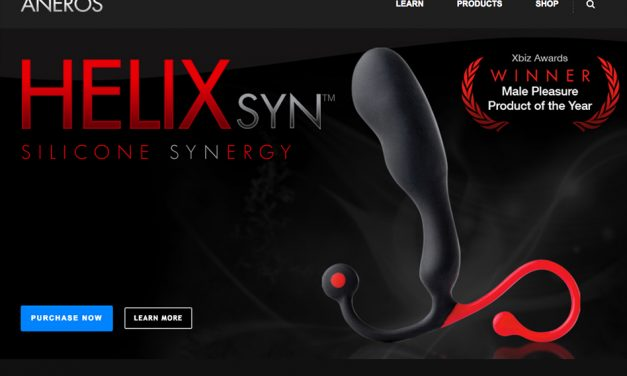 """ANEROS® preview """"Trident Series"""" prostate massagers"""