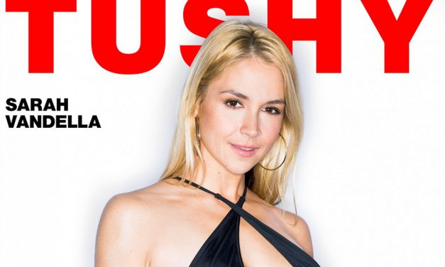 Sarah Vandella makes Tushy.com debut