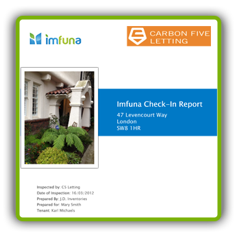 Sample - Property Check In Report