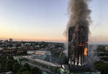 How can the industry use property technology to prevent an incident like the Grenfell Tower disaster from happening again?