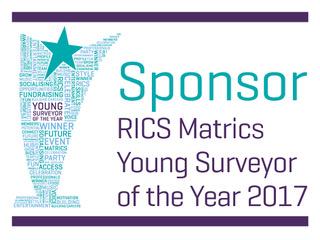 Imfuna sponsor the RICS Matrics Young Surveyor of the Year 2017 Award