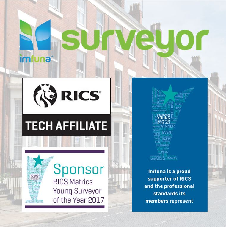 A special offer from Imfuna Surveyor to attendees of the RICS Young Surveyor of the Year Award 2017