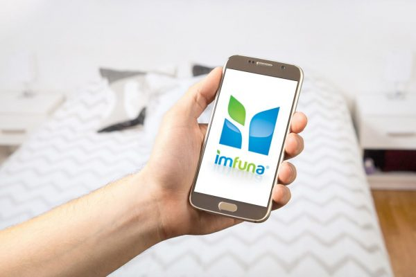 Use Imfuna's app on a mobile smartphone or tablet for property inventory reports