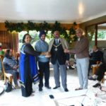 The Lord Mayor of Nottingham was honoured by Kavya Rang Members